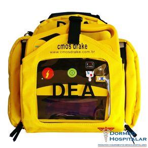 Desfibrilador Externo Automático DEA com Display LCD e Traçado Ecg - Life 400 Futura - Cmos Drake - Modo Médico