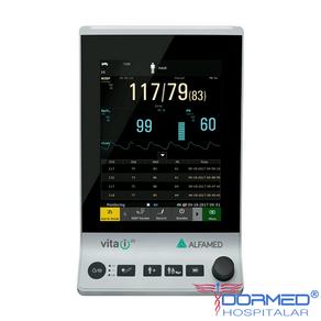 Monitor de Pressão Não Invasiva com SPO2 Vita i20 - Alfamed