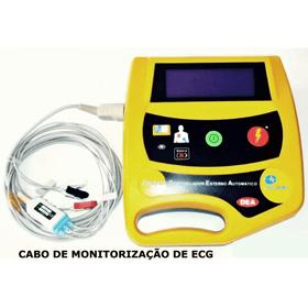 Desfibrilador-Externo-Automatico-DEA-com-Display-LCD-e-Tracado-Ecg-Life-400-Futura-Cmos-Drake-Cabo-de-ECG-03-Vias